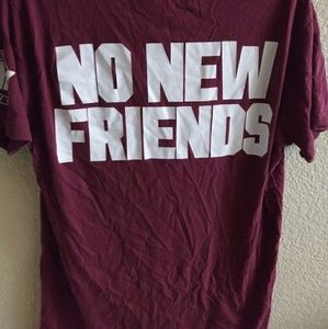 PINK VS. NO NEW FRIENDS DRAKE SHIRT HTF